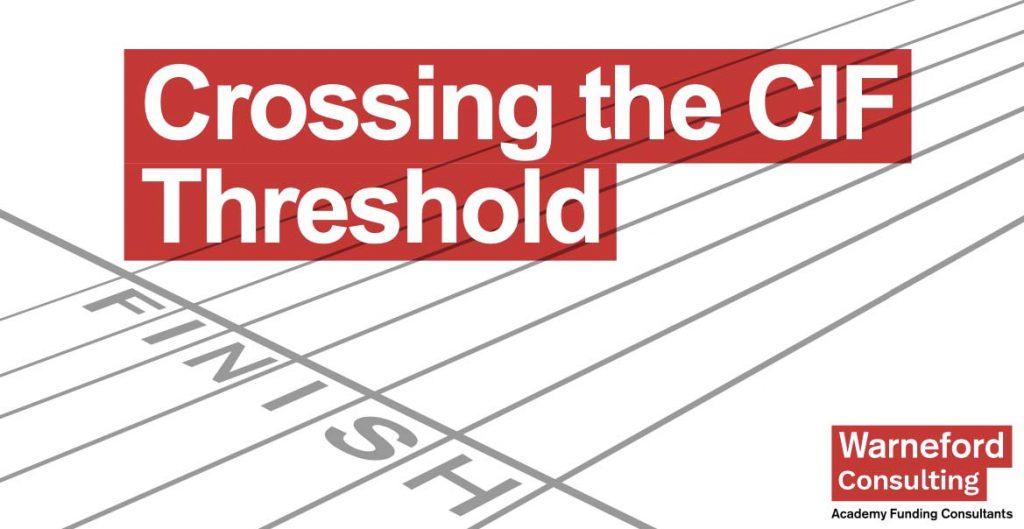 Crossing the CIF threshold